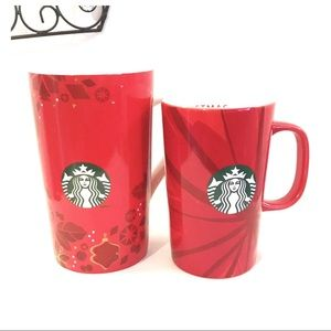 2013-2014 Starbucks Holiday Mugs (T)